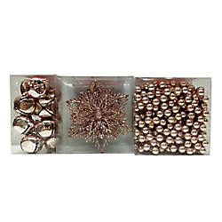 Home Accents Holiday Rose Gold Décor Accessories