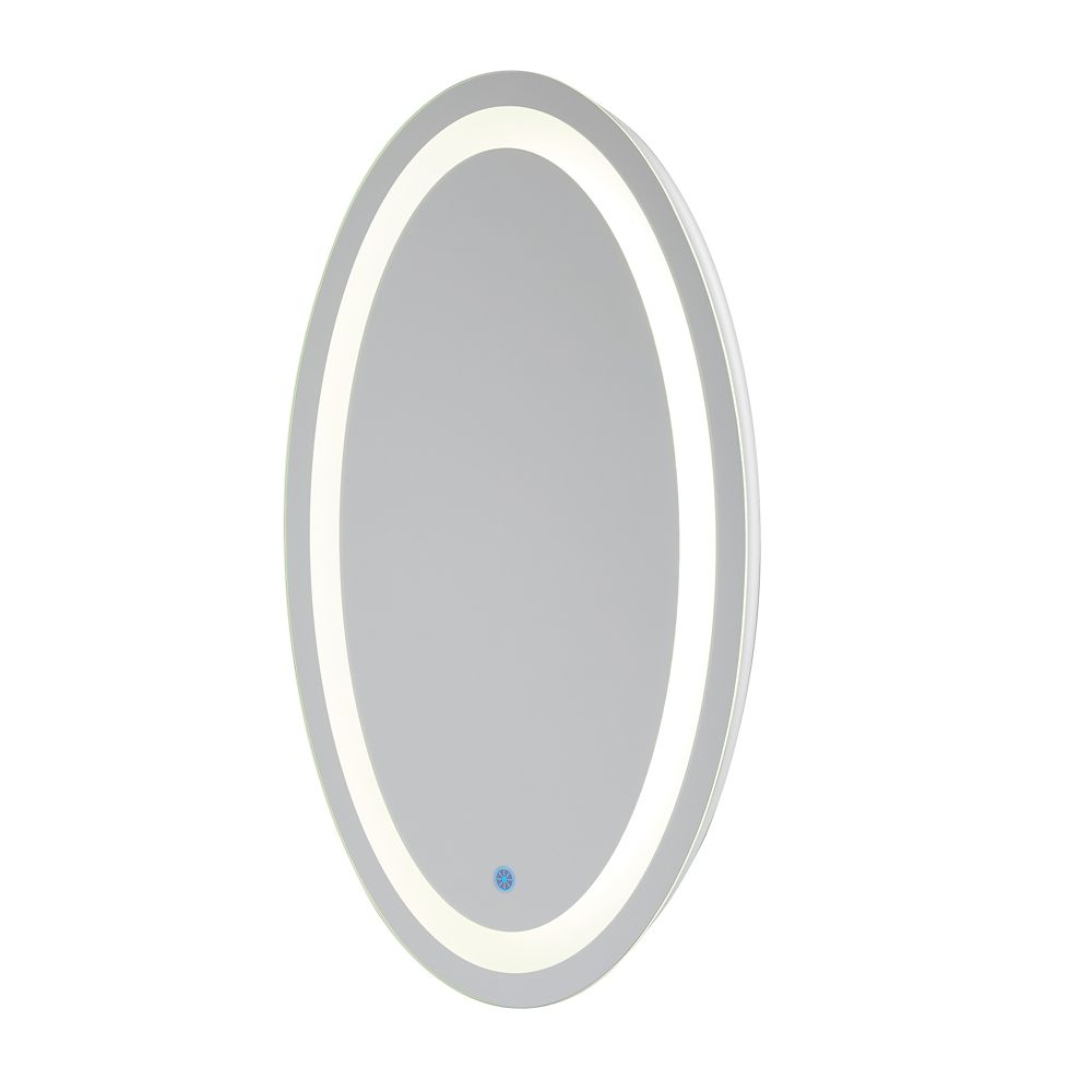 Renin Florence Hardwired Led Backlit Mirror Oval For