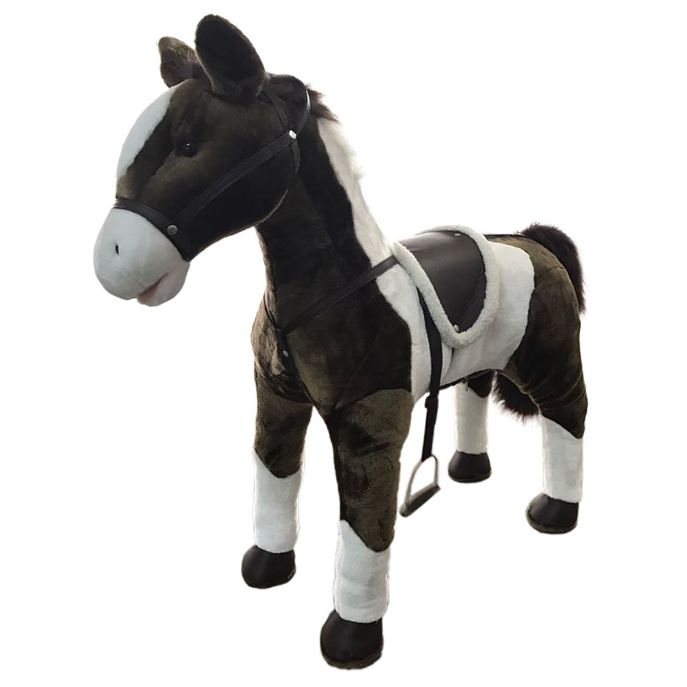 Home Accents Holiday 39-inch Animated Standing Horse Halloween Decoration