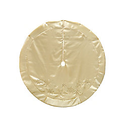 Home Accents Holiday 60-inch Champagne Tree Skirt