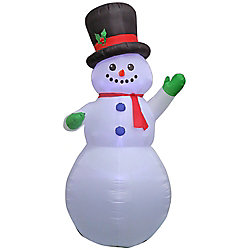 Home Accents Holiday 9 ft. Inflatable Airblown-Snowman