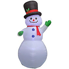 9 ft. Inflatable Airblown-Snowman
