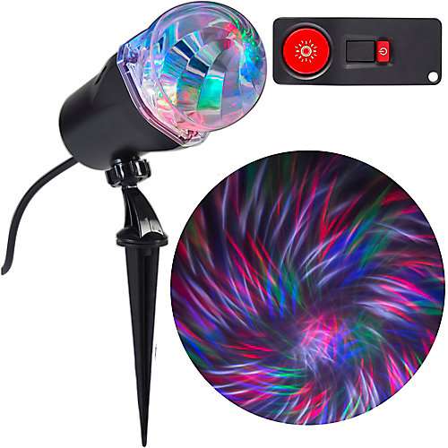 LED Projection Light Ribbon in Red/Green/Blue/White with Remote