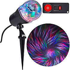 Lumière pour projection de rubans Lightshow, télécommande, RVBB