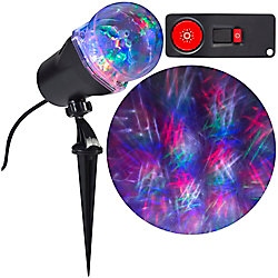 LED Star of Bethlehem Projection Spot Light in Red/Green/Blue/White