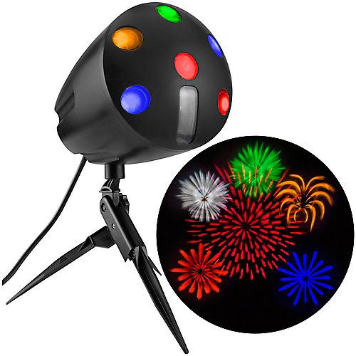LED Fireworks Projection Spot Light with Sound
