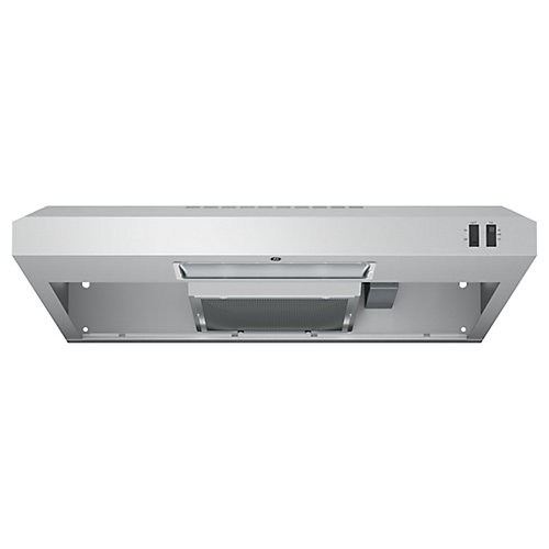 30 inch Under the Cabinet Vent Range Hood - Stainless Steel