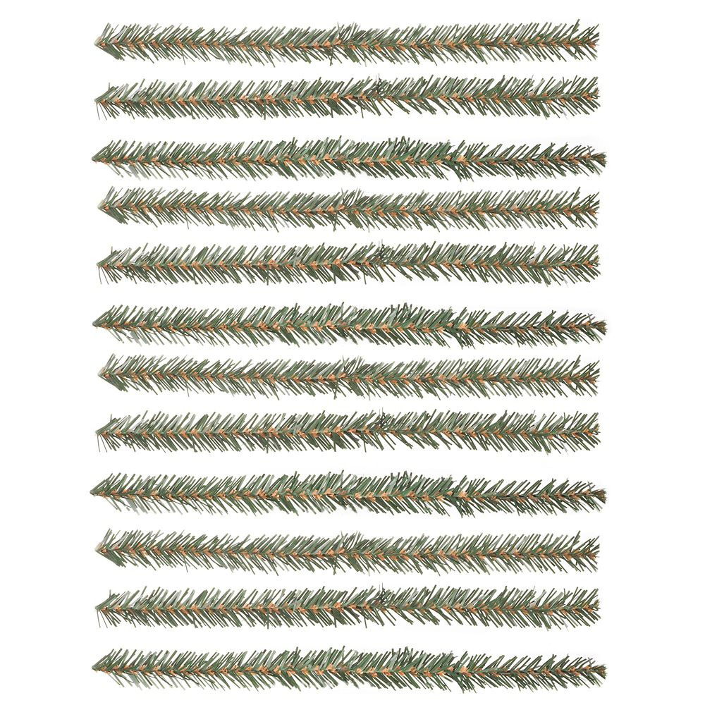 Home Accents Holiday 12-inch Faux Pine Christmas Garland Tie (12-Pack)