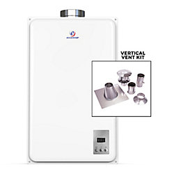 """Eccotemp Chauffe-eau instantané propane Eccotemp 45HI-LP (incl. kit de ventilation vertical Z-Flex 4"""")"""