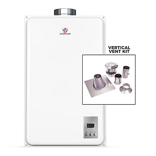 45HI-NG Indoor Natural Gas Tankless Water Heater (w/ 4-inch Vertical Vent Kit)