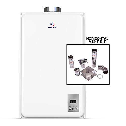45HI-NG Indoor Natural Gas Tankless Water Heater (w/ 4-inch Horizontal Vent Kit)