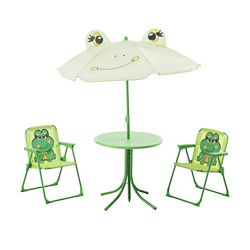 Sunjoy Happy Frog Bench Patio Furniture
