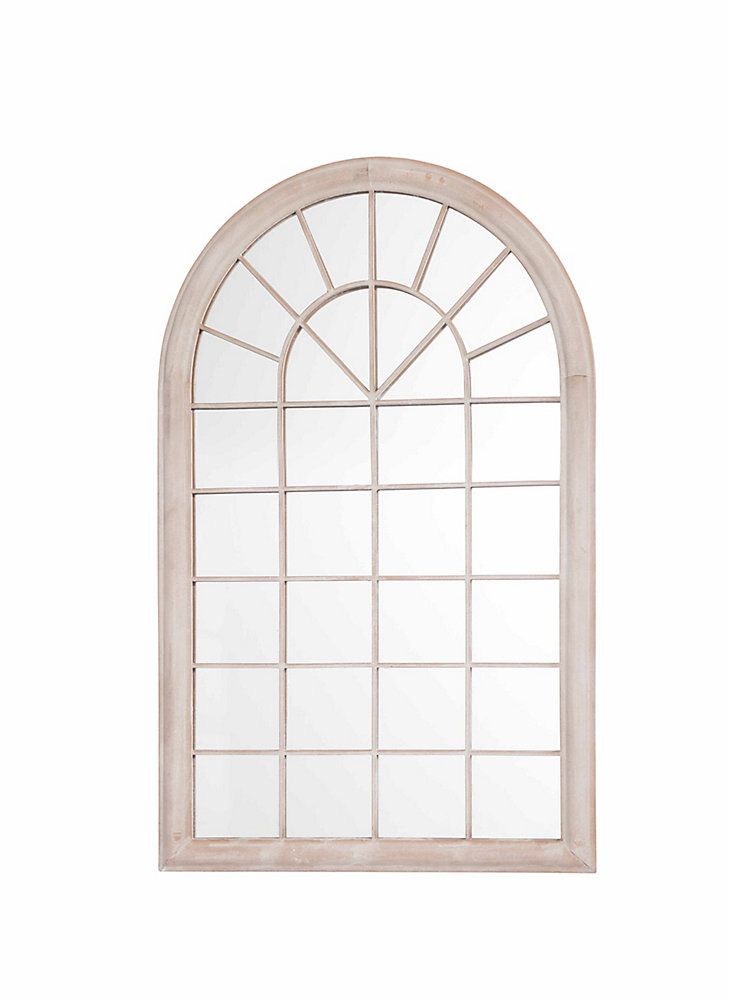 Rectangle Mirror, Round Top