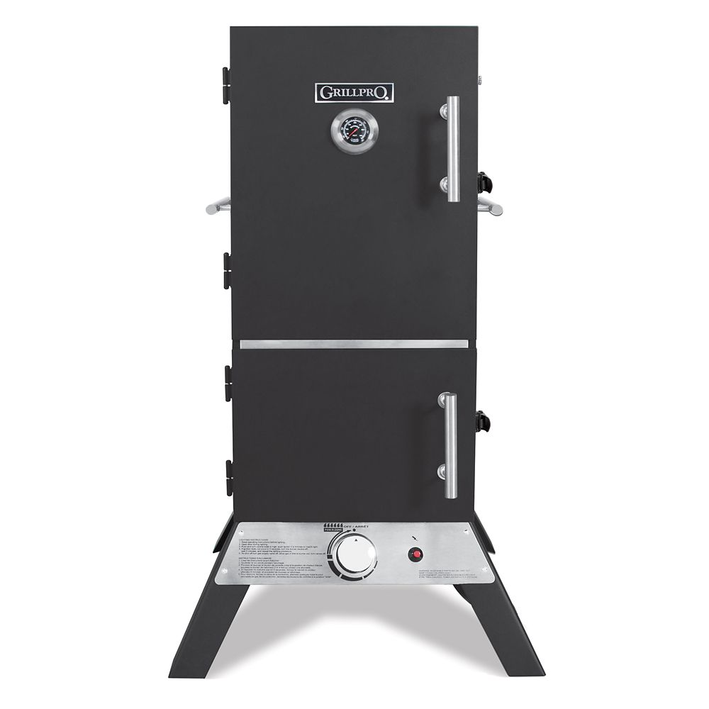 GrillPro Vertical Propane Cabinet Smoker