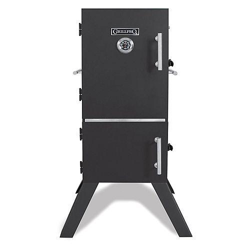 GrillPro Fumoir vertical au charbon de style armoire, 33 po