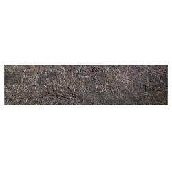 "Aspect Frosted Quartz - 4-Piece - 5.9"""" x 23.6"""" Peel and Stick Stone Backsplash Tile"