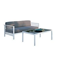 Nantucket Patio Sofa and Coffee Table Set