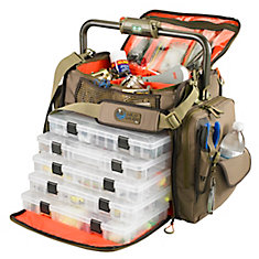 Tackle Tek Frontier - Lighted Bar Handle Tackle Bag With 5 - Pt3700 Trays
