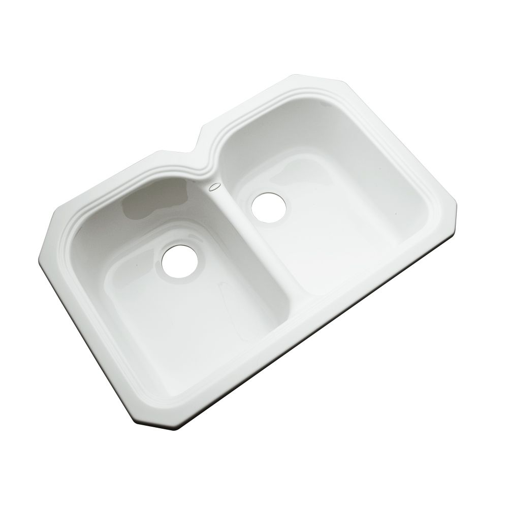 kohler double kitchen sink kohler wheatland 33 inch x 22 inch top mount bowl 6682