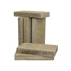 Pack de 6 briques réfractaires