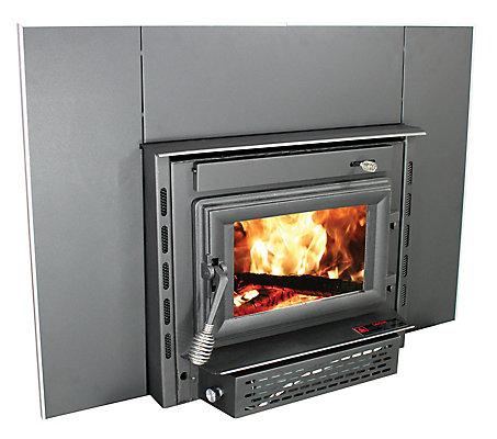Small Wood Burning Fireplace Insert
