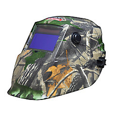 Lincoln Auto-Darkening Welding Helmet in Camo
