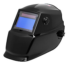 Lincoln Auto Darkening Welding Helmet in Midnite Black