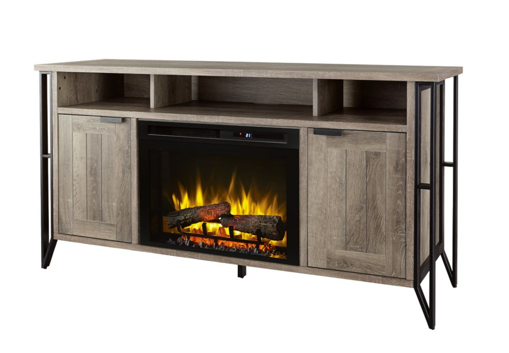 Dark Wood Tv Credenza : Tv stands the home depot canada