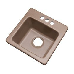 Mont Blanc Northbrook 25 inch Single  Bowl Natural Kitchen Sink