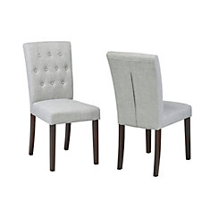 Side Chair, Set of 2 Grey