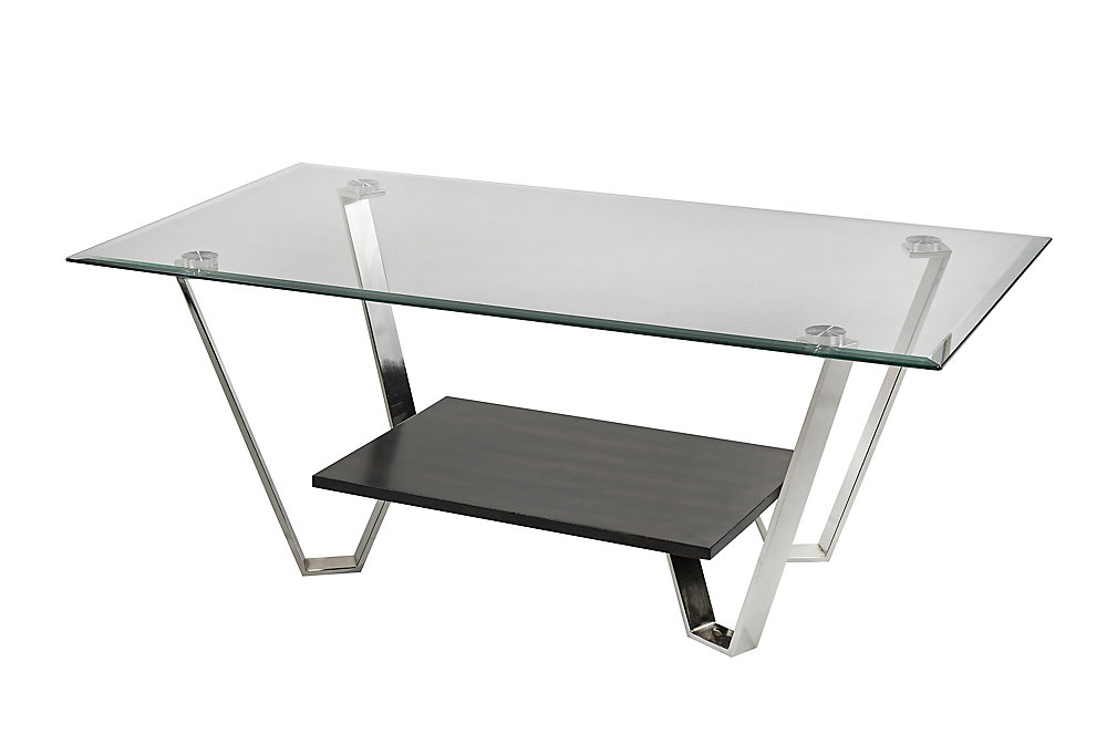 Avalon Coffee Table, Silver