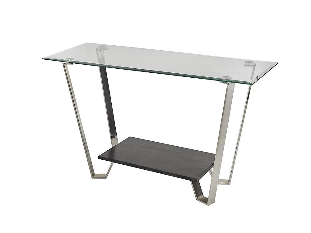 Avalon Sofa Table, Silver