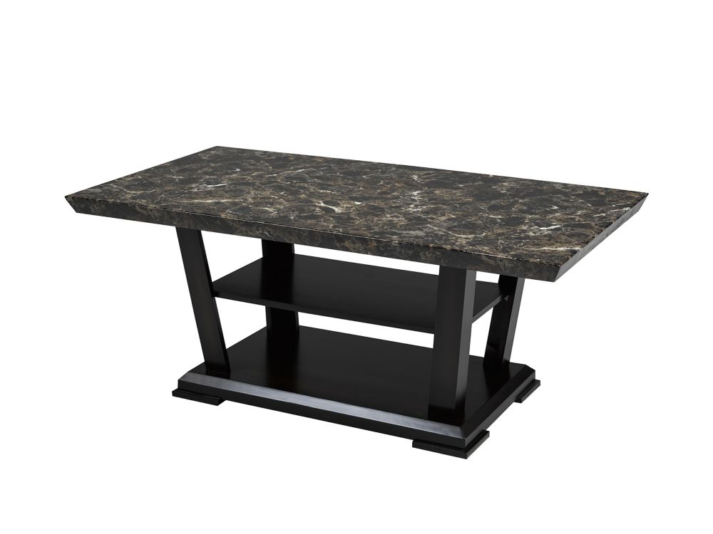 Brassex Inc. Charlotte Coffee Table, Espresso