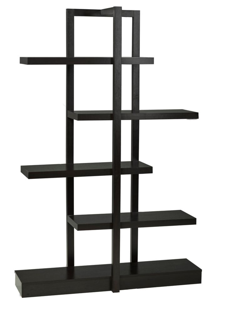 5-Tier Display Shelf, Dark Cherry