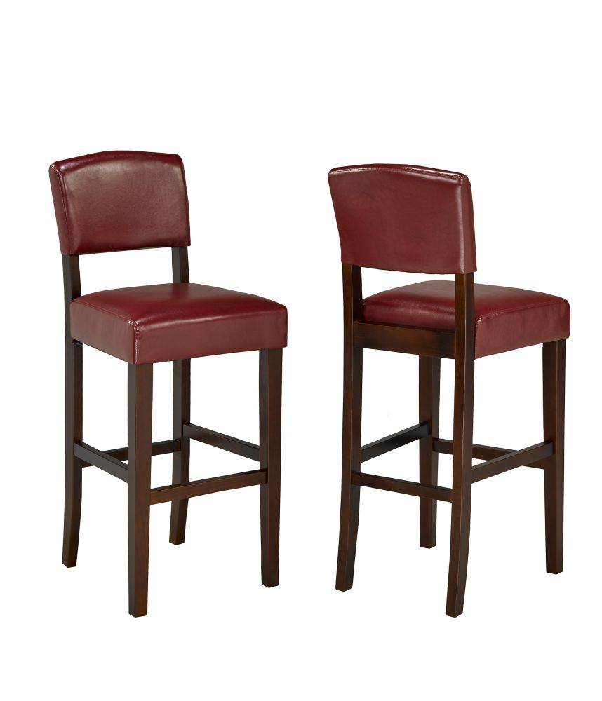 Carolina Forge Adjustable Tractor Seat Stool In Red The