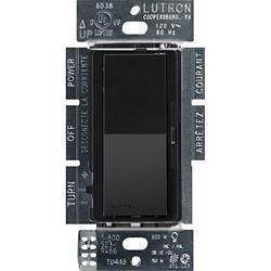 Lutron Diva 150-Watt Single Pole/3-Way LED/CFL Dimmer, Black