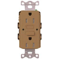 Lutron Claro 15-Amp Tamper Resistant Receptacle, White
