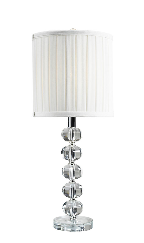 24 Inch Crystal Table Lamp