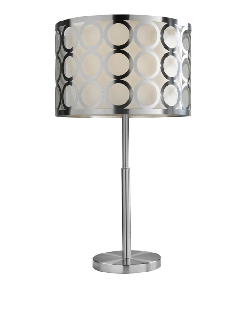 27 inch metal table lamp