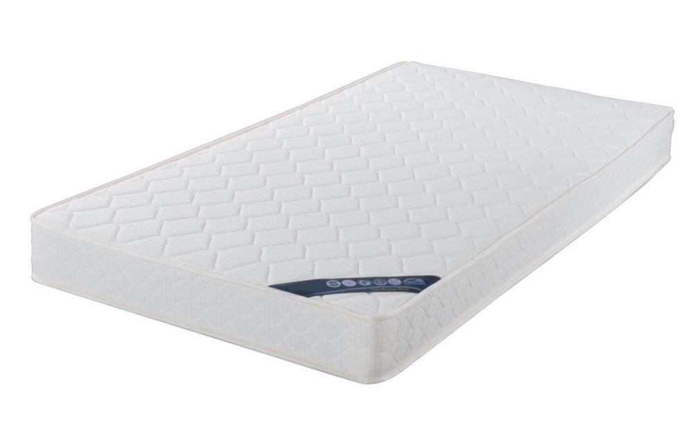 Brassex Inc. 6.5 ft Foam Queen Mattress