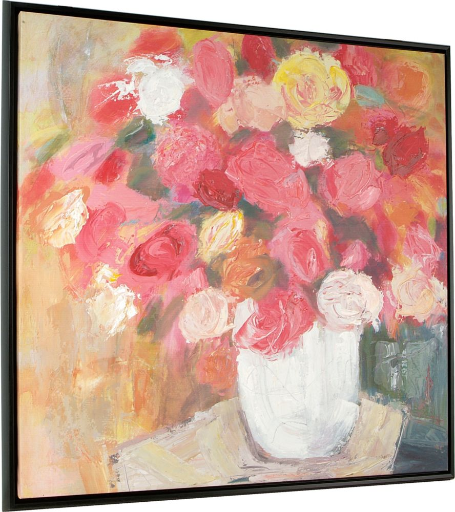 Art Maison Canada Fresh Floral by Mara Schiavetto Framed Painting
