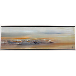 Art Maison Canada Abstract Landscape II by Sanjay Patel Framed Painting Print on Wrapped Canvas