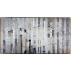 Art Maison Canada Birchland par I.Kite. Encadré de peinture dimpression sur toile enveloppé