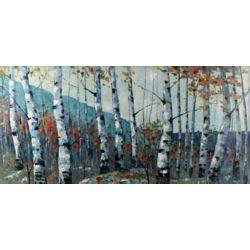 Art Maison Canada Forêt de bouleaux dautomne par I.Kite. Impression de peinture sur toile enveloppé