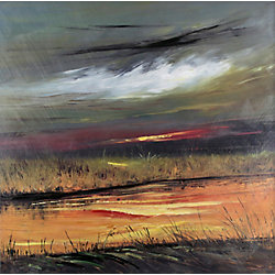 Art Maison Canada Marsh Land by David V. Painting Print on Wrapped Canvas