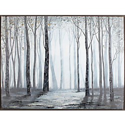Art Maison Canada Open Space by Anastasia C. Framed Painting Print on Wrapped Canvas