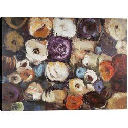 Art Maison Canada Couleur des fleurs de Tina O. Original peinture sur toile enveloppé