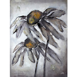 Art Maison Canada Sun Flower by Luna M. Painting Print on Wrapped Canvas