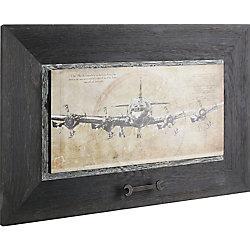 Art Maison Canada Plane I Framed Painting Print