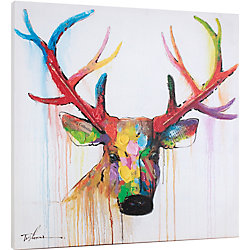 Art Maison Canada Painting Print on Wrapped Canvas